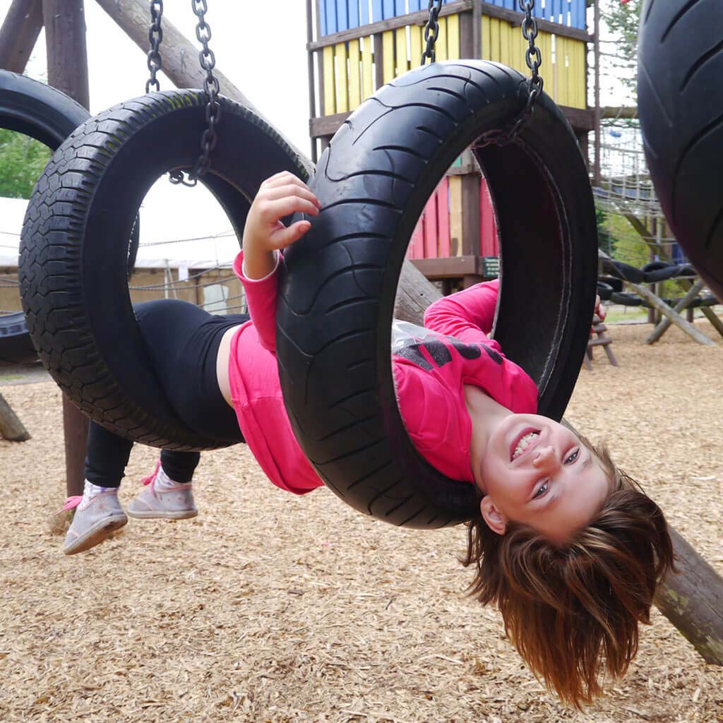 Girl on Outdoor Play
