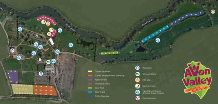 Camping Site Map