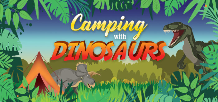 Camping with Dinosaurs
